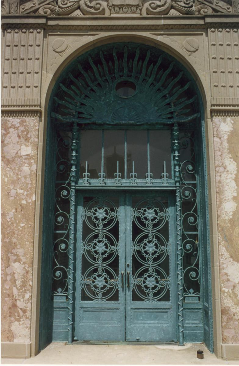 Cudahy Library Door
