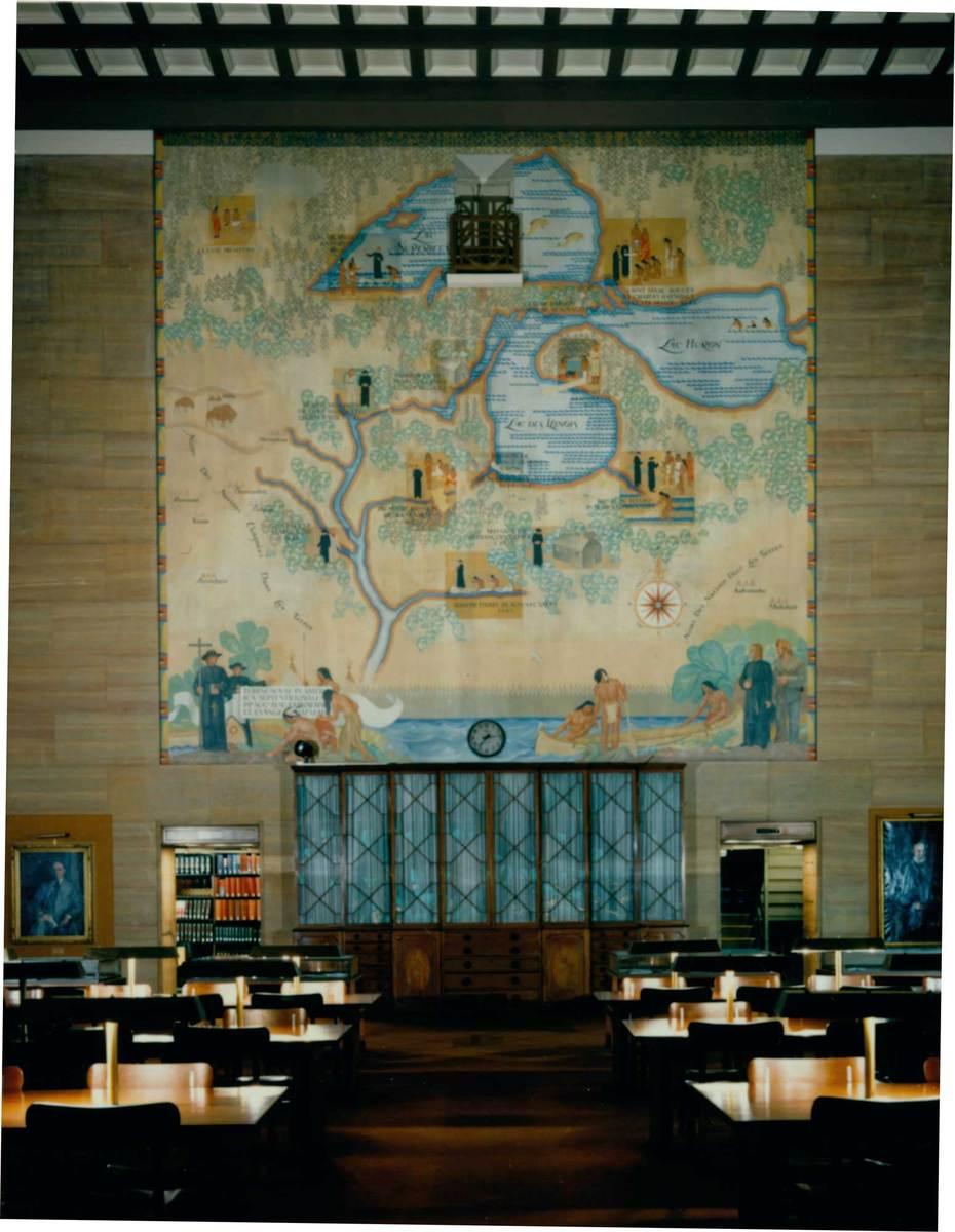 John W. Norton Mural