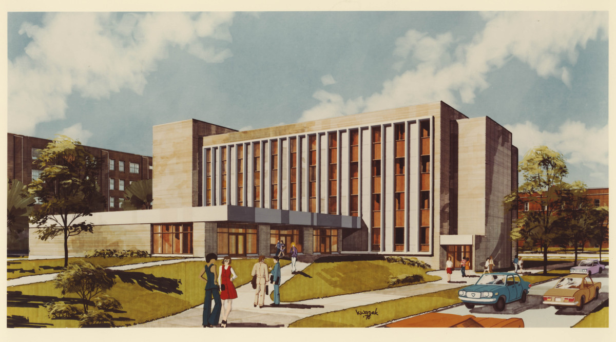Flanner Hall - Architect's Rendition