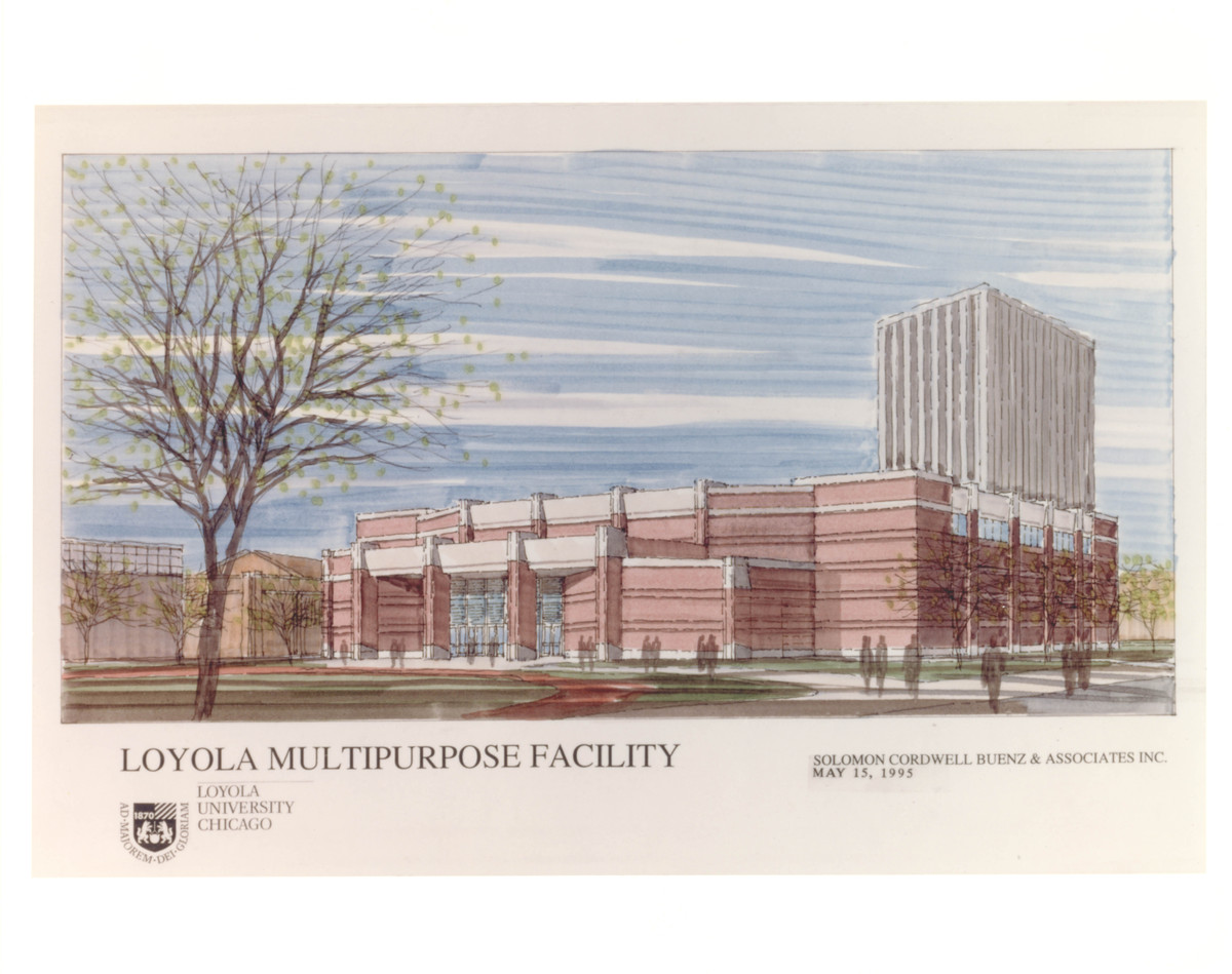 Gentile Center - Architect's Rendering