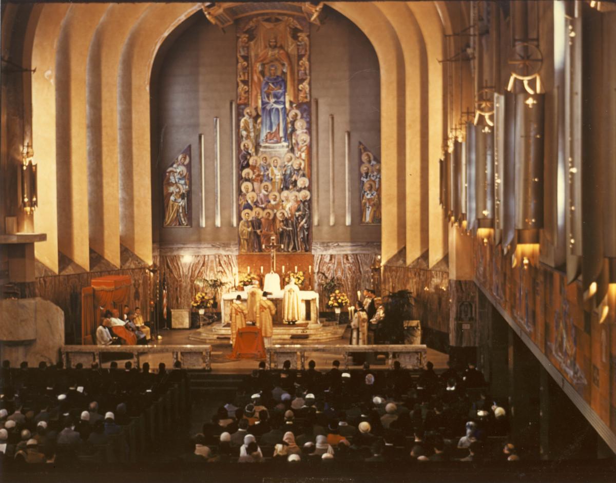 Madonna della Strada original interior