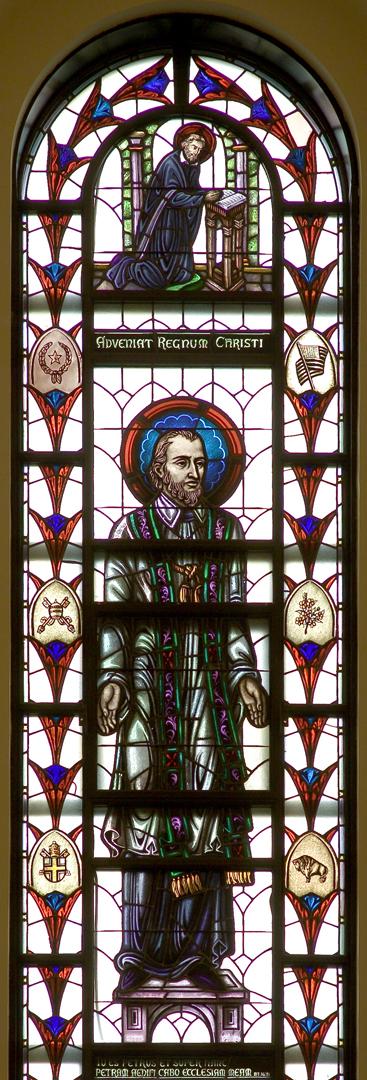 Madonna della Strada Chapel - St. Francis Regis Window