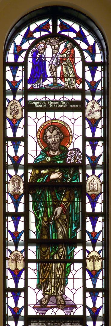 Madonna della Strada Chapel - St. Joseph Window