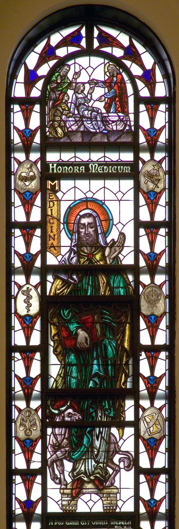Madonna della Strada - St. Luke Window
