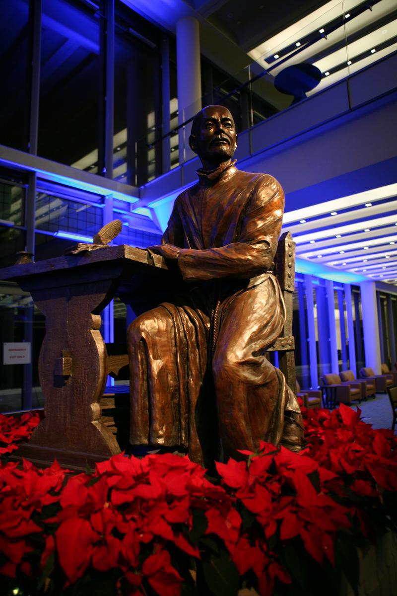 St. Ignatius Statue