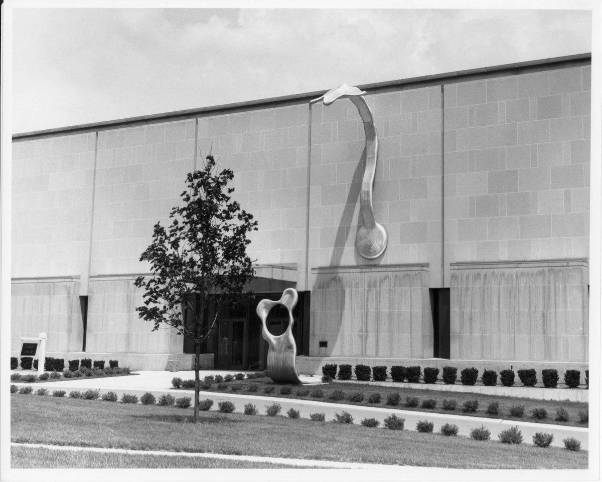 Resurrectiai: Main Entrance to Cudahy Library