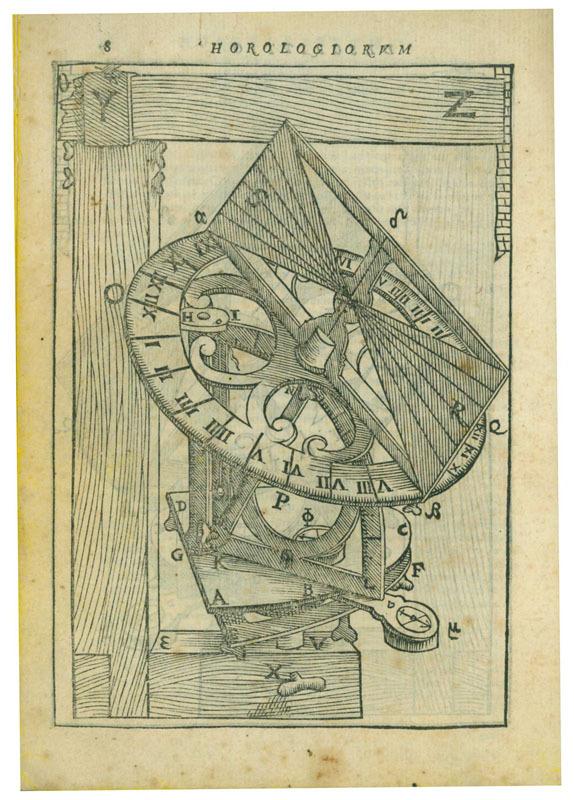 Fabrica et vsus instrumenti ad horologiorum descriptionem peropportuni...(Rome, 1586)