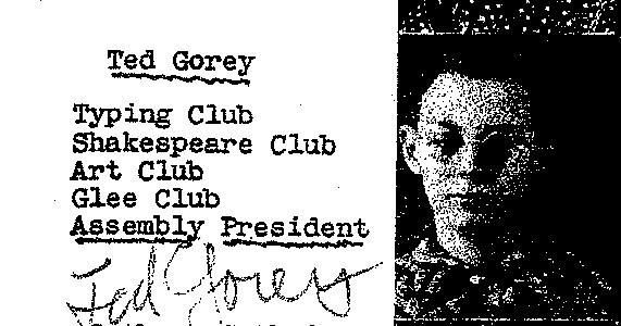 Gorey Yearbook