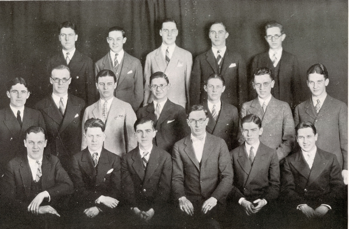 First LUC Blue Key honor society, 1926