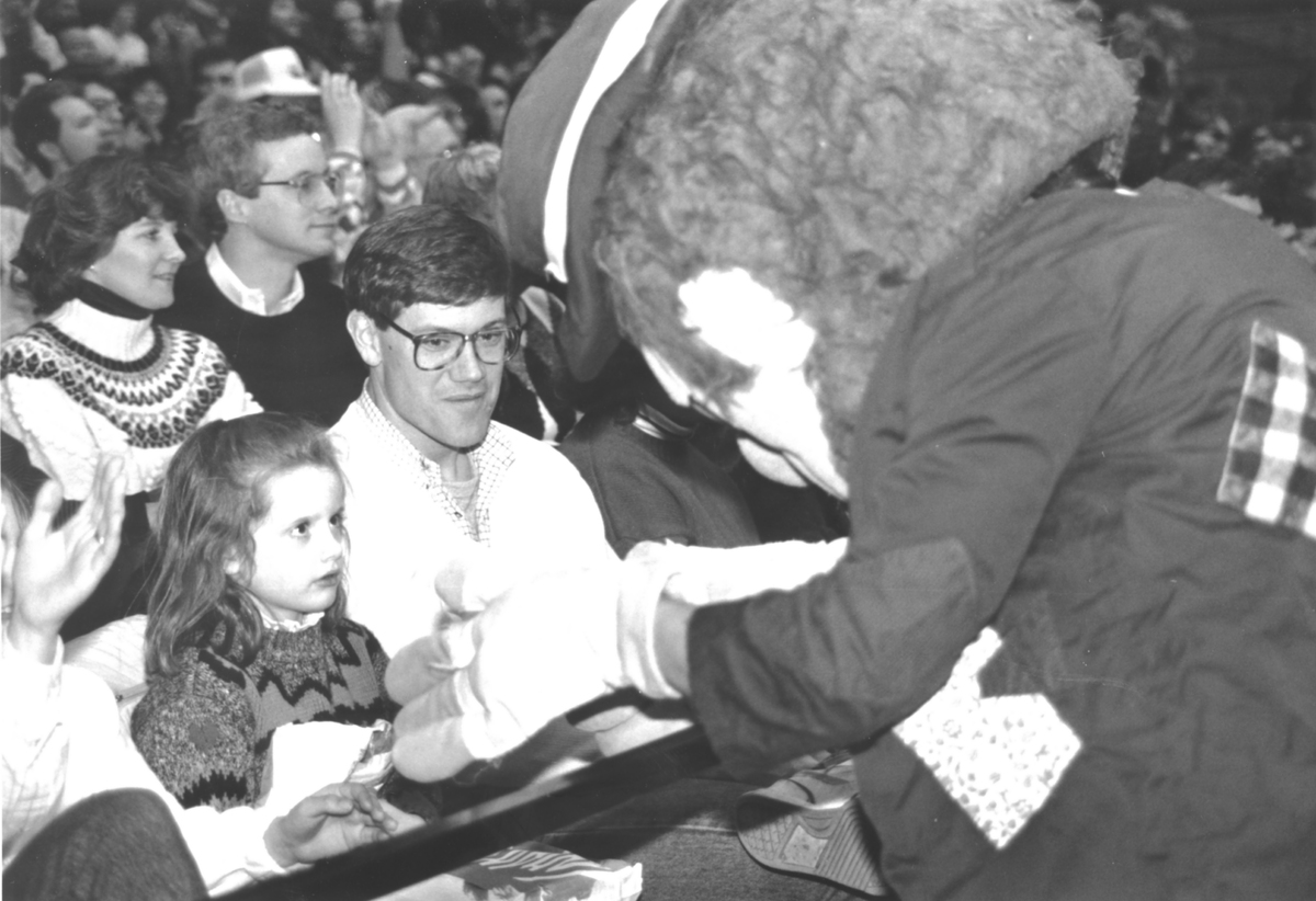 Bo Rambler with Fans, 1989