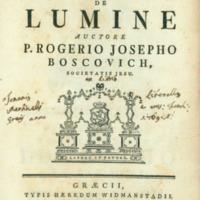 Dissertatio de lumine