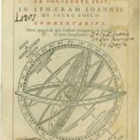 Christophori Clavii Bambergensis ex Societate Iesu, In sphaeram Ioannis de Scaro Bosco commentarius (Lyon, 1593)