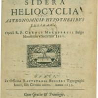 Austriaca sidera hellocyclia astronomicis hypothesibus illigata...(Douai, 1633)