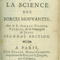 La statique ou La science des forces mouvantes