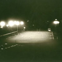 Football Game Under the Lights, 1931