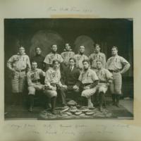 Baseball team, 1903