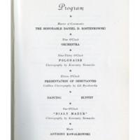Program of Events