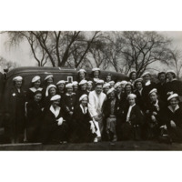 LMP Members with Ambulances