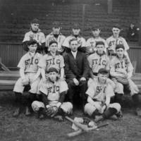 Baseball team, 1900s