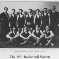 Men's Basketball Team, 1924 season