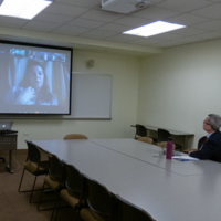 A virtual faculty/staff meeting