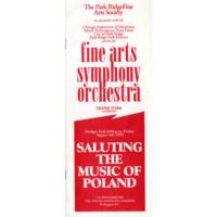"""Saluting the Music of Poland"" Program"