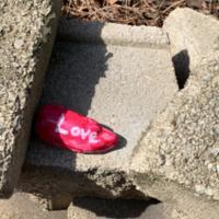 COVID-19 Rock Art - Love