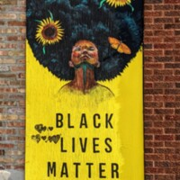 Black Lives Matter Street Art Summer of 2020