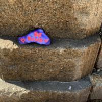 COVID-19 Rock Art - Be Kind