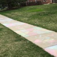 COVID-19 Sidewalk Art 2