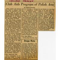 """Club Aids Program of Polish Arts"""
