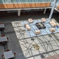 Stritch School of Medicine Atrium During COVID-19