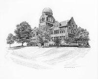 Cudahy Science Hall - Sketch