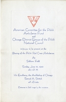 Ambulance Dedication Invitation, 1940.jpg