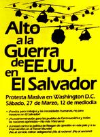 Washington, D.C. protest advertisement